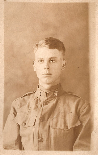 George Herbert Casey in the 81st Division, 324 Infantry Regiment, Company D WWI