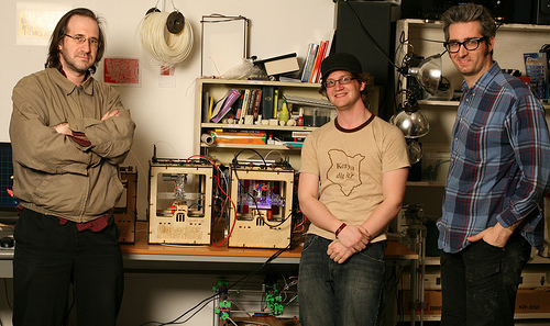 MakerBot Founders and Final Prototypes