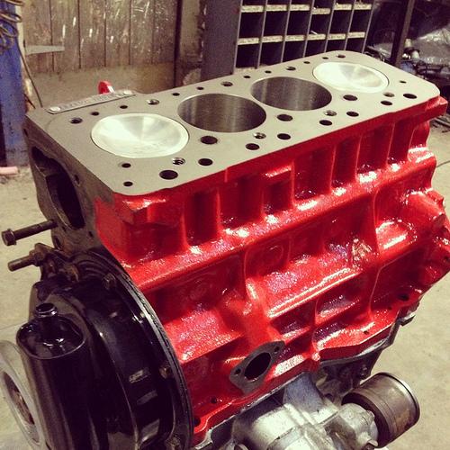 crankshaft machining
