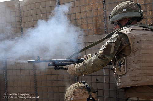 Soldiers Practice Compound Clearances Prior to Operation Tor Shezada in Afghanistan