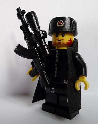 Colonel Danko with RPD-SD Machine China Gun