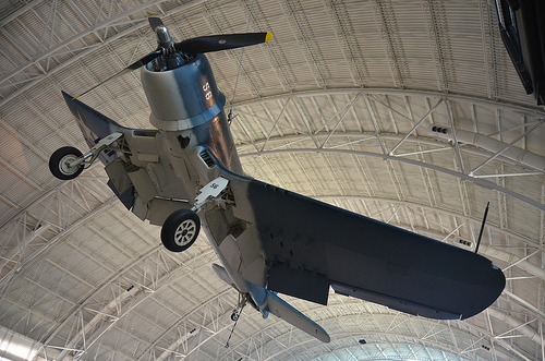 Steven F. Udvar-Hazy Center: Vought F4U-1D Corsair