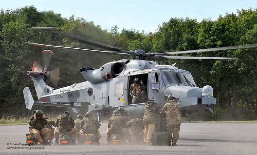 TA Reservist Ground Crews Train with the New Wildcat Helicopter for the First Time