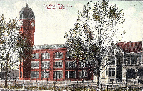 Flanders Mfg. Co., Chelsea, Michigan (former Glazier stove factory).