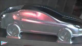 Idea automobile CAD CAM- CNC 5 axis machining – YouTube.flv